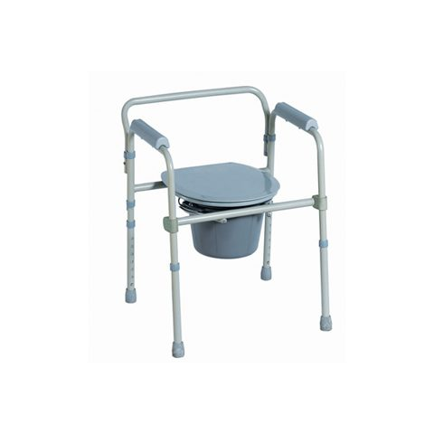 Steel commode chair CA618