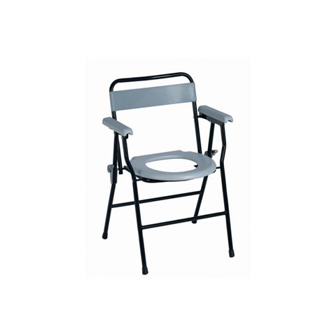 Steel commode chair CA699